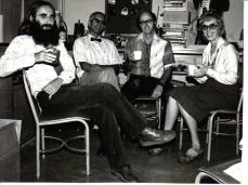 1980 - USA -Oph with Norwalk colleagues