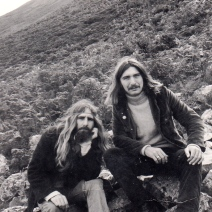 opher 1971 with Gary Turp