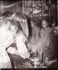 Opher & Liz Buddhist Wedding 1971