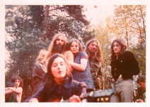 Opher & Liz Oxshot woods Wedding 1971