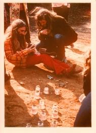 Opher & Pete Ayley Oxshot woods Wedding 1971