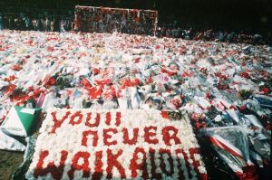 Hillsborough%20Disaster%20Flowers%20and%20scarves%20on%20the%20pitch