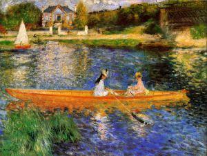Renoir - The Seine at Asnières