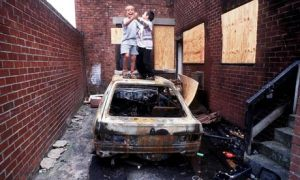 Children-play-on-a-burned-006