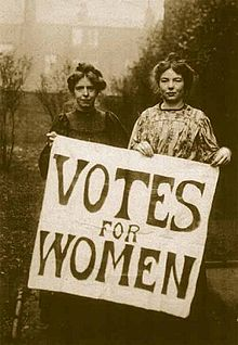 Suffragettes -Annie_Kenney_and_Christabel_Pankhurst