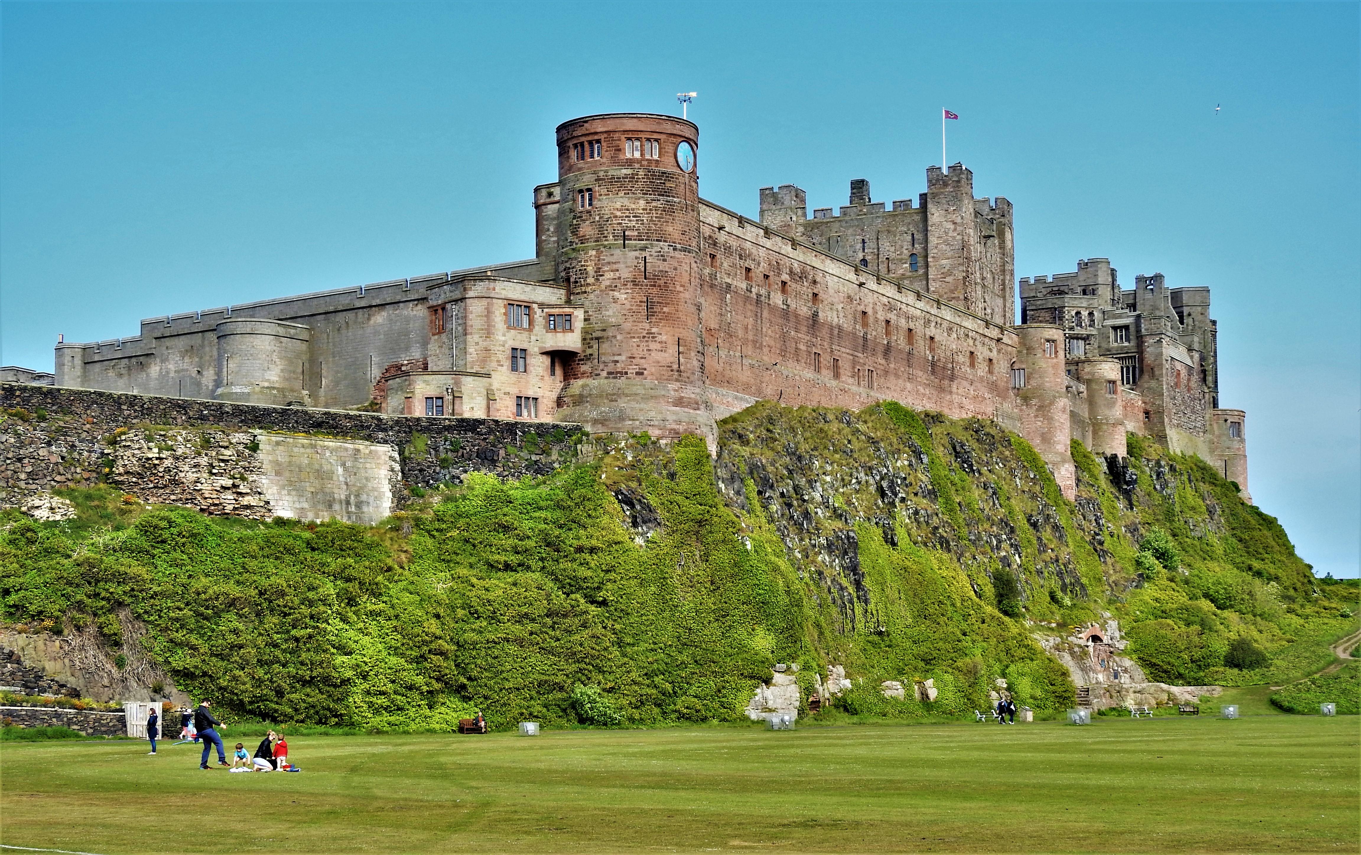 Bamburgh Castle Opher S World